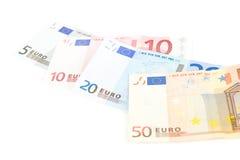 Soldi europei Immagini Stock