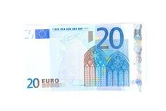 Soldi europei Fotografie Stock Libere da Diritti