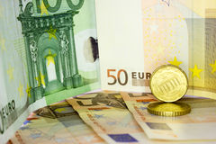 Soldi europei 10 Fotografie Stock Libere da Diritti