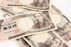 Soldi giapponesi Immagini Stock