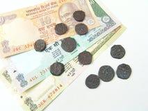 Soldi indiani Fotografia Stock