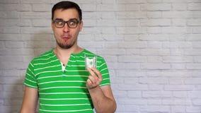 Soldi mangiatori di uomini divertenti archivi video
