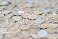 Soldi/parti di valuta vecchie Fotografie Stock Libere da Diritti