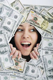 Soldi, soldi, soldi… Fotografie Stock Libere da Diritti
