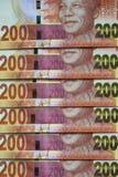 Soldi sudafricani Immagini Stock