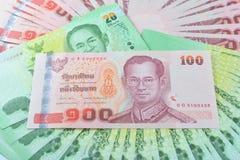 Soldi tailandesi Fotografia Stock Libera da Diritti