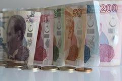 Soldi turchi Immagini Stock Libere da Diritti