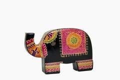 Soldi variopinti di risparmio di porcellino dell'elefante Fotografia Stock Libera da Diritti