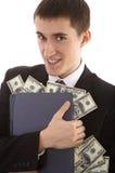 soldi Web-criminali delle stole Immagini Stock Libere da Diritti