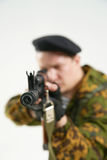 The soldier. Of group of a special forces Royalty Free Stock Image
