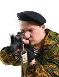 The soldier Royalty Free Stock Photo
