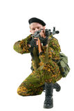 The soldier Stock Photography