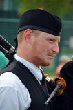 Soldier of the Black Watch Royal Highland Regiment Royalty Free Stock Images