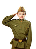 The soldier boy Royalty Free Stock Image