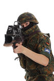 Soldier of the Bundeswehr. Stock Photos