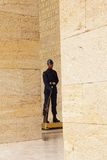 Soldier at the changing of the guard ceremony Royalty Free Stock Image