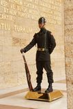 Soldier at the changing of the guard ceremony Royalty Free Stock Photography