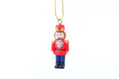 Soldier for the christmas tree Royalty Free Stock Images