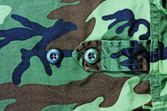 Soldier cloth Stock Image
