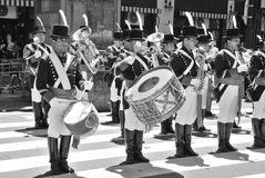 soldier costume parade Royalty Free Stock Images