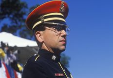 Soldier, Desert Storm Victory Parade, Washington, D.C. Royalty Free Stock Photography