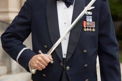 Soldier Dress Uniform Stock Photo