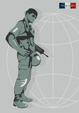 Soldier of the Foreign Legion. Stock Images