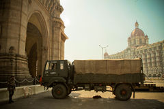 Soldier of  The Gateway to India, Mumbai, India Stock Photos