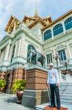 Soldier guard Royal palace bangkok thailand Stock Images