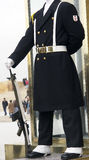 The soldier in guard shift Royalty Free Stock Photos