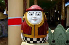 Soldier guardian doll at gate of Bu Paya Pagoda Royalty Free Stock Photography