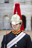 Soldier from Household Cavalry at Horse Guards Parade Royalty Free Stock Photo