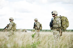 Free Soldier In Patrol Royalty Free Stock Image - 22789476