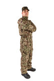 Soldier isolated Stock Photo