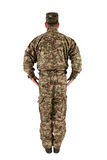 Soldier isolated Stock Image