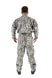 Soldier isolated Stock Photography