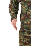Soldier isolated Stock Photos