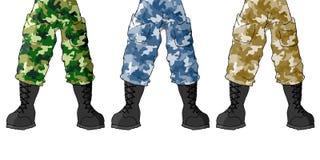 Soldier legs Stock Photos