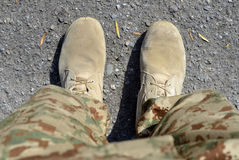 Soldier Legs! Stock Image