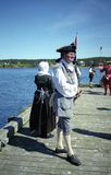 Soldier at Louisbourg fortress Royalty Free Stock Photography