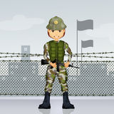 Soldier military Stock Images