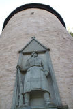 A soldier monument Royalty Free Stock Photography