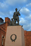 Soldier monument in Tallinn Royalty Free Stock Photos