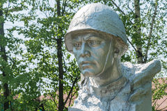 Soldier monument Royalty Free Stock Photo