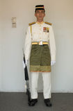 Soldier in royal residance and ceremonial palace Stock Photos