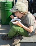 Soldier's porridge Stock Image