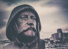 Soldier sculpture Royalty Free Stock Photo