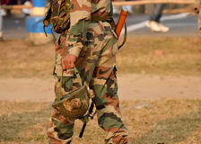 Soldier security Royalty Free Stock Photography