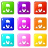 Soldier set 9 Royalty Free Stock Photos