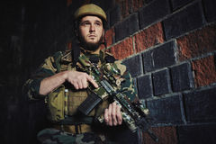 Soldier of special forces Stock Photography